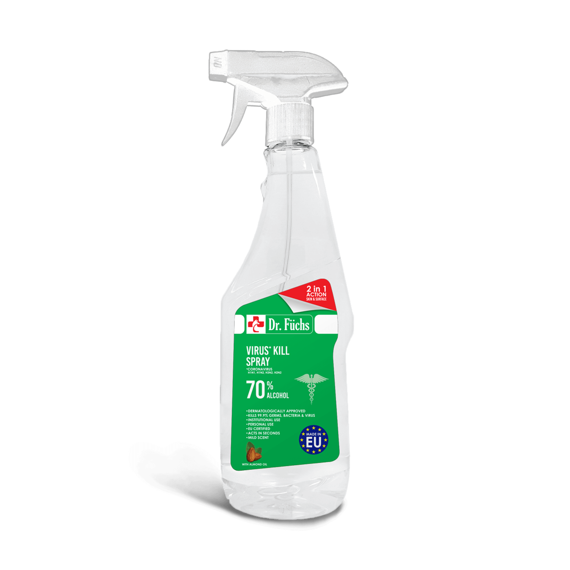 Dr Fuchs 2in1 action 750 ml