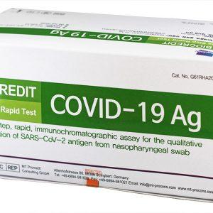 Teste Antigen Rapide - BioCredit Covid-19 Ag